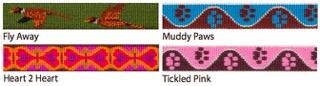 Lupine Collars - Patterns